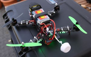 Eldon's drone built from scratch